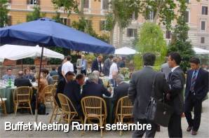 Buffet Meeting Roma - settembre