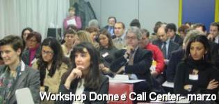 Workshop Donne e Call Center - marzo